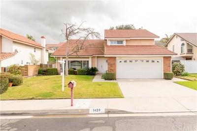 Diamond Bar Single Family Home For Sale: 1420 Copper Mountain Drive