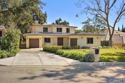 Arcadia Single Family Home For Sale: 1770 Oakwood Avenue