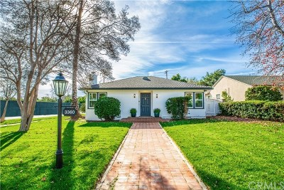 Pasadena Single Family Home For Sale: 3360 Thorndale Road