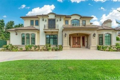 Arcadia Single Family Home For Sale: 61 West Las Flores Avenue