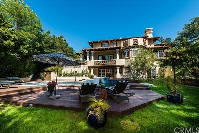 La Canada Flintridge Single Family Home For Sale: 4770 Rosebank Drive