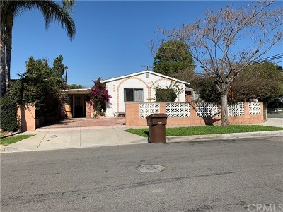 La Puente Single Family Home Active Under Contract: 15641 Alwood Street