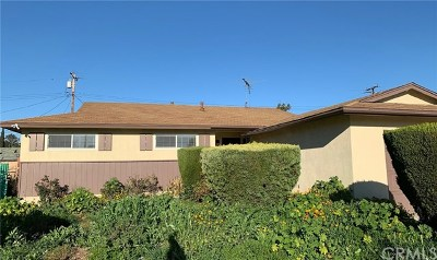 Pomona Single Family Home For Sale: 1825 S Huntington Street