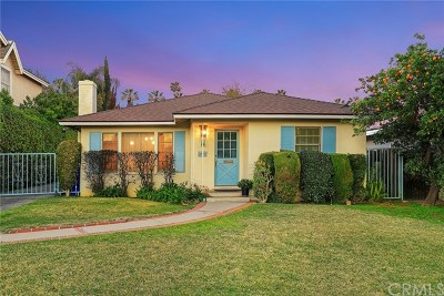San Gabriel Single Family Home For Sale: 6948 Ferncroft Avenue