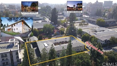 Pasadena Multi Family Home For Sale: 296 N Oakland Avenue