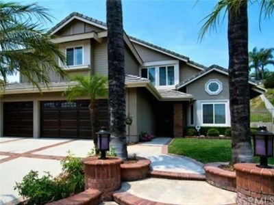 Yorba Linda Single Family Home For Sale: 3415 Fairmont Boulevard