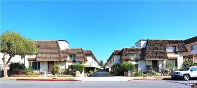 Monterey Park Condo/Townhouse For Sale: 236 N Nicholson Avenue #A