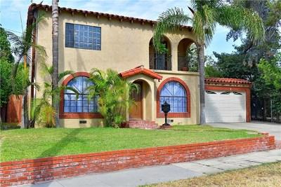 San Gabriel Single Family Home For Sale: 225 N San Marino Avenue
