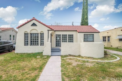 San Bernardino Single Family Home For Sale: 2878 N Pershing Avenue