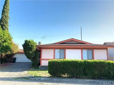 San Gabriel Single Family Home For Sale: 8816 Littlestone Drive