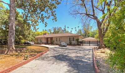 San Marino Single Family Home For Sale: 1640 Bedford Road