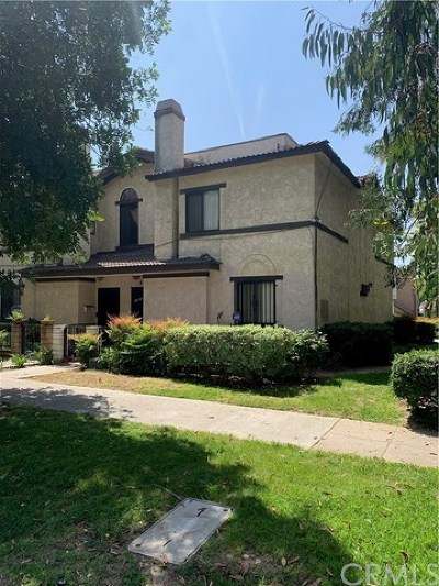Pasadena Condo/Townhouse For Sale: 1400 Monte Vista Street
