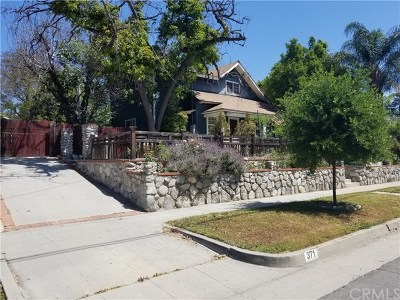 Pasadena Single Family Home For Sale: 371 E Claremont Street