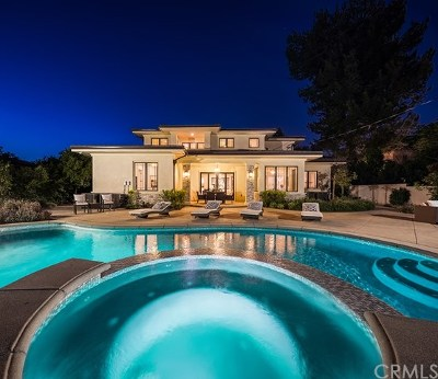 Arcadia Single Family Home For Sale: 110 W La Sierra Drive