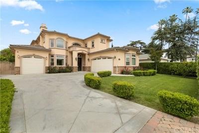 San Gabriel Single Family Home For Sale: 9167 Ardendale Avenue