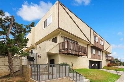 Monterey Park Condo/Townhouse For Sale: 335 S New Avenue #D
