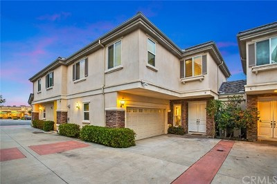Arcadia Condo/Townhouse For Sale: 1211 S Golden West Avenue #B