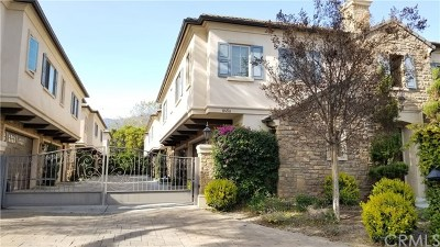 Arcadia Condo/Townhouse For Sale: 845 W Huntington Drive #B