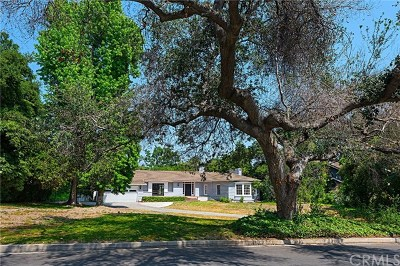 Arcadia Single Family Home For Sale: 1210 Rodeo Road