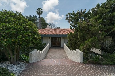 Single Family Home For Sale: 1309 Via Gabriel