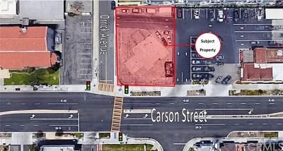 Carson Commercial For Sale: 205 E Carson Street
