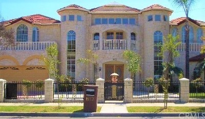 Arcadia Single Family Home For Sale: 612 W Camino Real Ave.