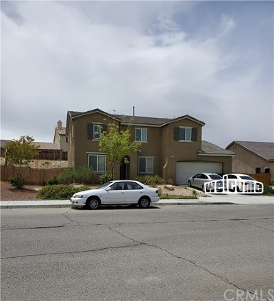 Victorville Single Family Home For Sale: 13447 Snowdrop Court