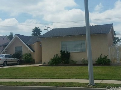 Covina Single Family Home For Sale: 1152 W Edna Place
