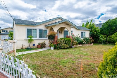 Temple City Single Family Home For Sale: 10936 Freer Street