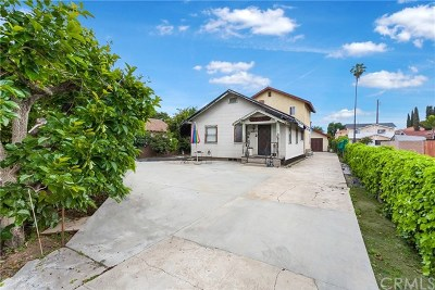 El Monte Single Family Home Active Under Contract: 11919 Ranchito Street