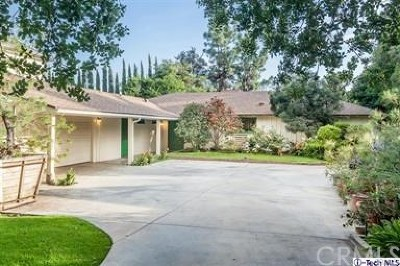 Pasadena Single Family Home For Sale: 2928 Lombardy Road
