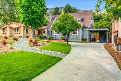 Sierra Madre Single Family Home For Sale: 400 Foothill Avenue