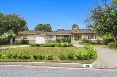 Arcadia Single Family Home For Sale: 170 Elkins Place