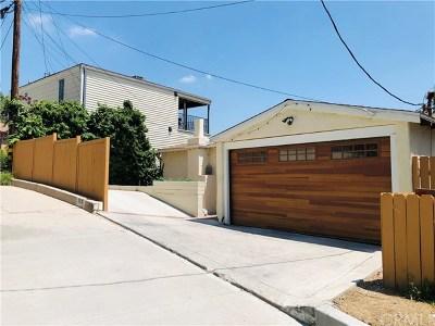 Los Feliz Single Family Home For Sale: 2366 Lyric Avenue