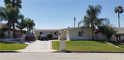 West Covina Single Family Home For Sale: 933 S Shasta Street