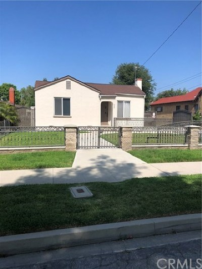 Los Angeles County Multi Family Home For Sale: 927 S 10th Avenue