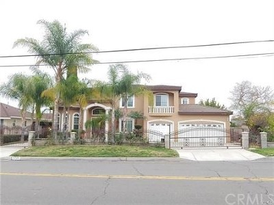 San Gabriel Single Family Home For Sale: 8720 Garibaldi Avenue
