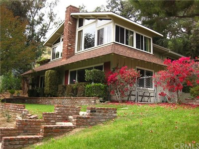 Monrovia Single Family Home For Sale: 807 Crescent Drive