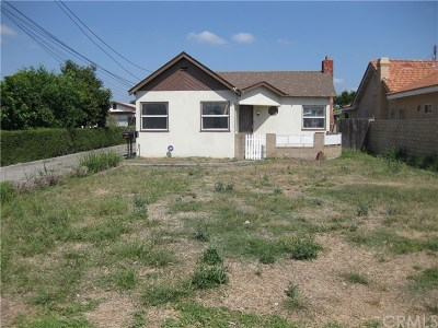 El Monte Single Family Home For Sale: 5212 Hammill Road