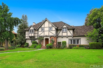 San Marino Single Family Home Active Under Contract: 2305 Ridgeway Road