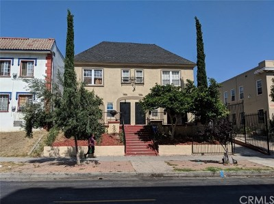 Los Angeles Multi Family Home For Sale: 848 S Normandie Avenue