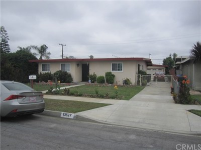 Whittier CA Single Family Home Active Under Contract: $465,000
