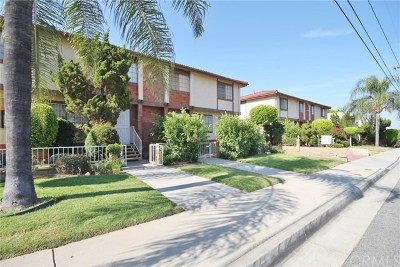Monterey Park Condo/Townhouse For Sale: 1115 Whitmore Street #A