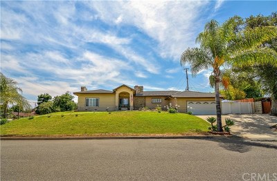 West Covina Single Family Home For Sale: 3402 E Sunset Hill Drive