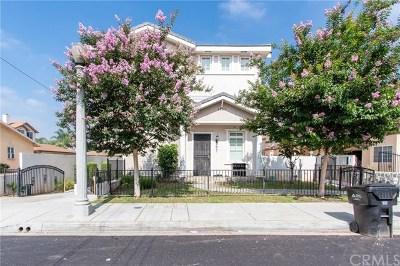 San Gabriel Multi Family Home For Sale: 1951 Denton Avenue