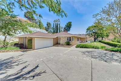 Whittier CA Single Family Home For Sale: $960,000