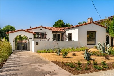 Sierra Madre Single Family Home For Sale: 70 E Highland Avenue