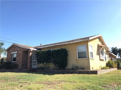 West Covina Single Family Home Active Under Contract: 2256 W Doublegrove Street
