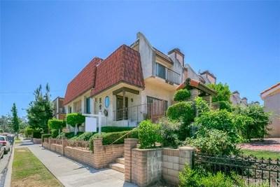 Monterey Park Condo/Townhouse For Sale: 437 Sefton Avenue #B