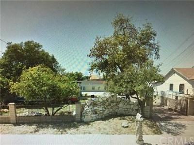 Pomona Multi Family Home For Sale: 1439 S Palomares Street
